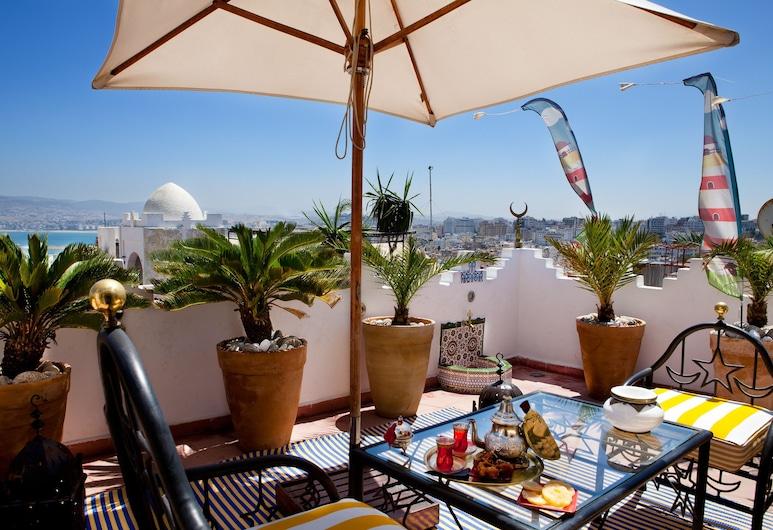 Dar Sultan, Tangier, Panoramic-rum - havsutsikt, Terrass