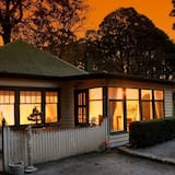 Front of property - evening