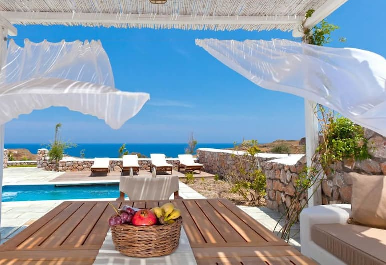 Anema Residence, Santorini, Villa (Levantes), Terrace/Patio