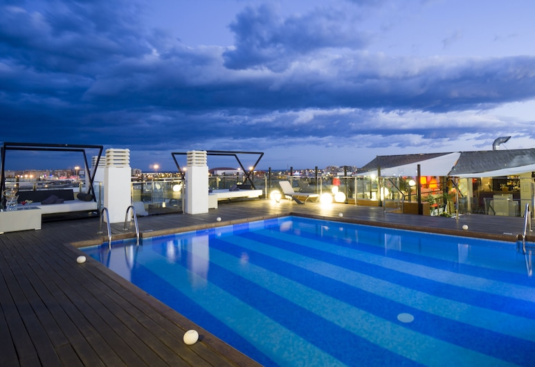 Hotel Málaga Nostrum, Málaga, Outdoor Pool