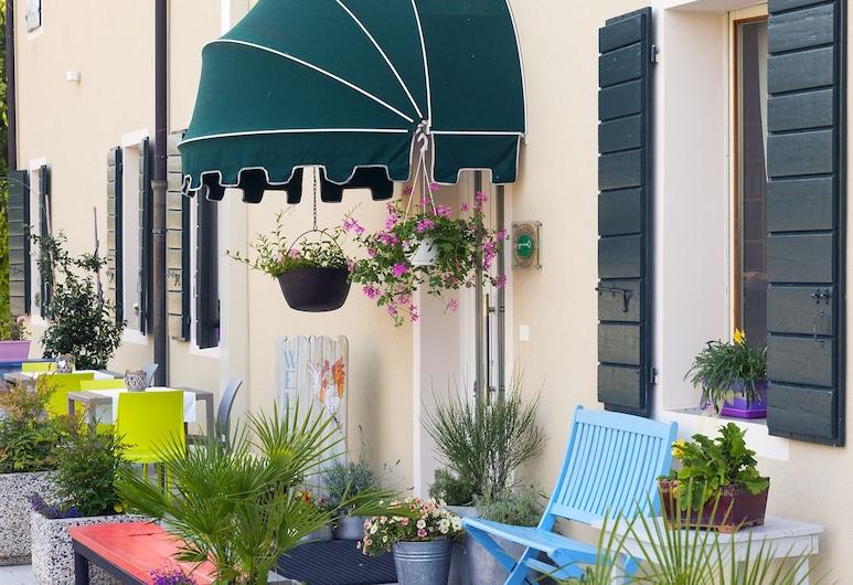 Hotel Ristorante Al Gallo, Oderzo, Hotellin sisäänkäynti