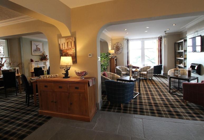 Uplands Inn Cartmel, Grange-Over-Sands, Lounge ξενοδοχείου