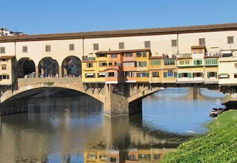Hotel Abaco, Florencia, Výhľad z hotela
