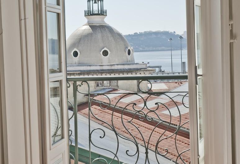 Ribeira Tejo by Shiadu, Λισσαβώνα, Superior Δίκλινο Δωμάτιο (Double), Θέα στο Ποτάμι, Δωμάτιο επισκεπτών