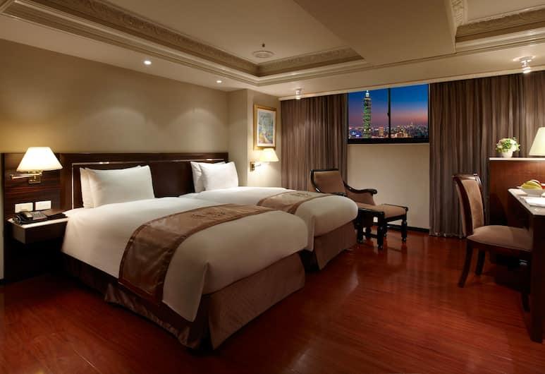 Hope City Fushing Hotel, Taipei, Twin kamer, 2 eenpersoonsbedden (Non cancellable ), Kamer