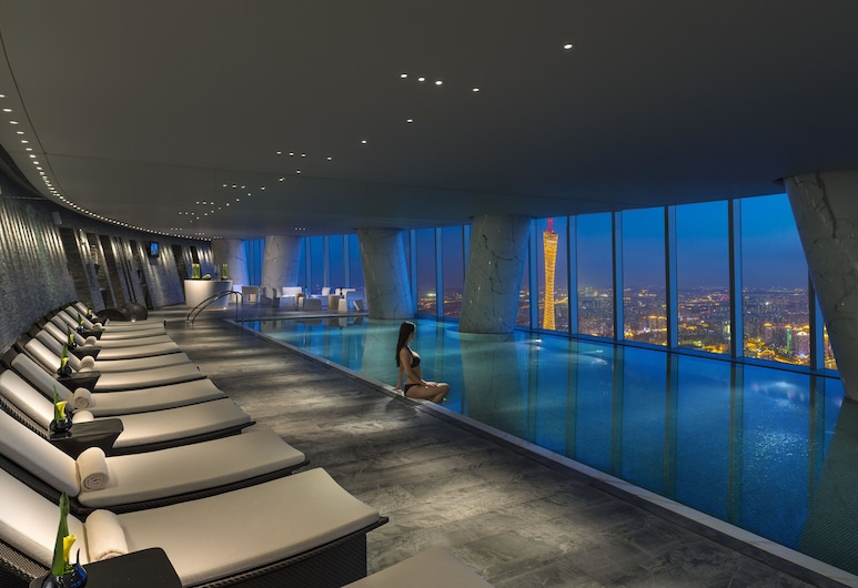 Four Seasons Guangzhou, Guangzhou, Indoor Pool