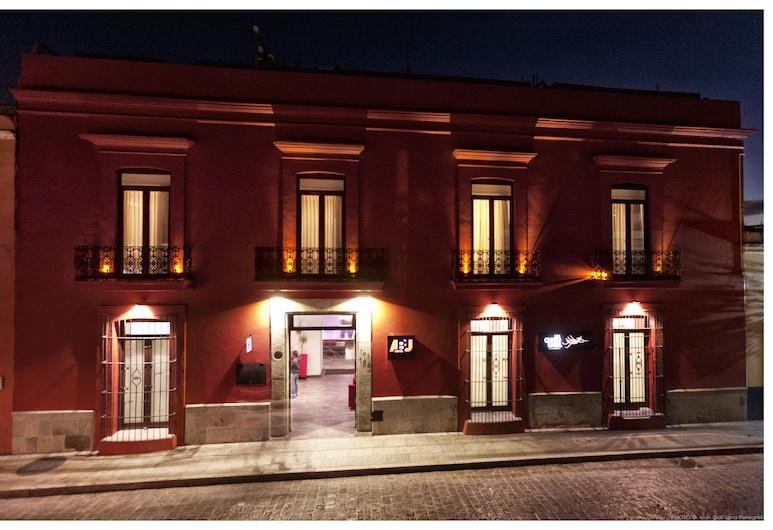 Hotel Abu, Oaxaca, Hotel Front – Evening/Night