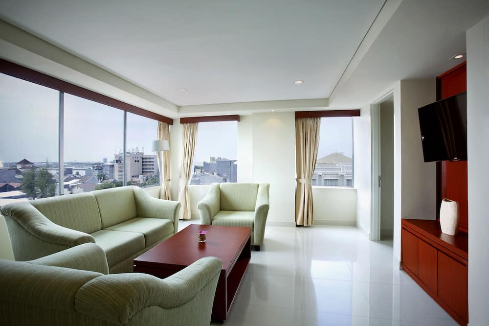 Suite – executive, 1 kingsize-seng - Oppholdsområde
