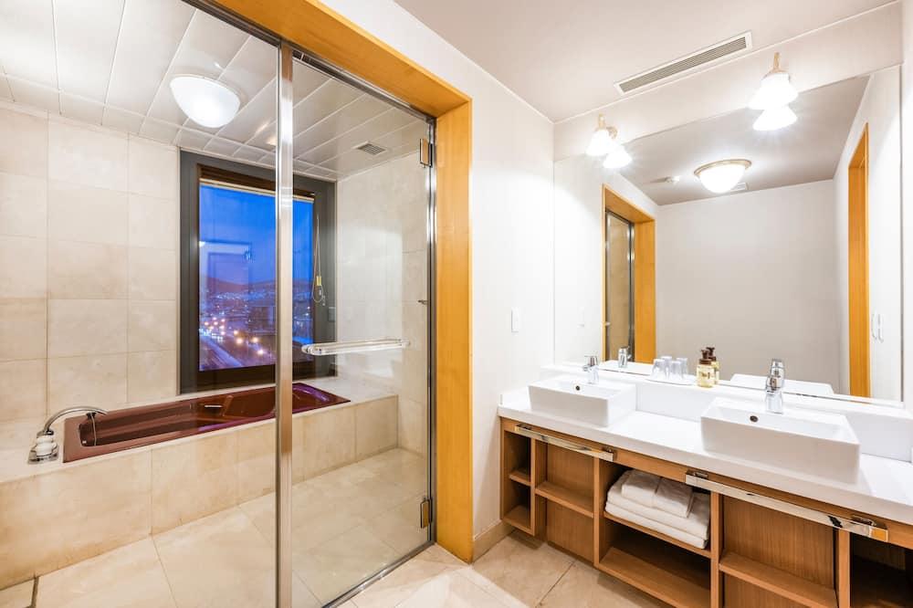 エグゼクティブルーム 禁煙 - バスルーム