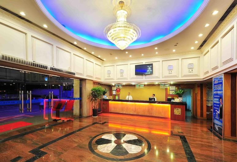 The Overseas Chinese Building Hotel, Σενζέν, Λόμπι