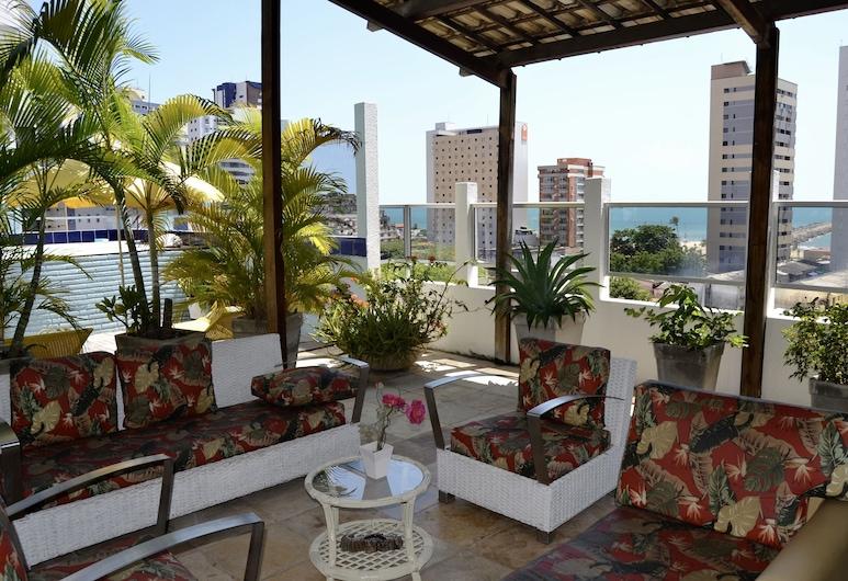 Hotel Casa de Praia, Fortaleza, Αίθριο/βεράντα