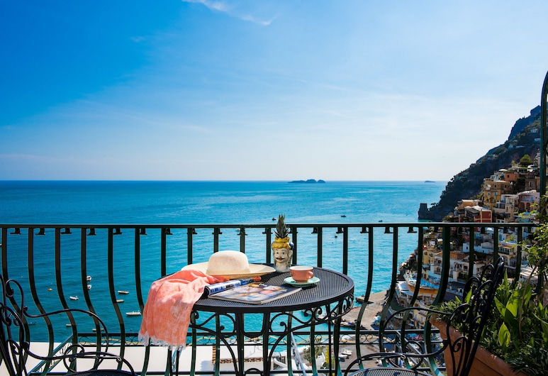 Alcione Residence, Positano, Superior Suite, Sea View, View from room