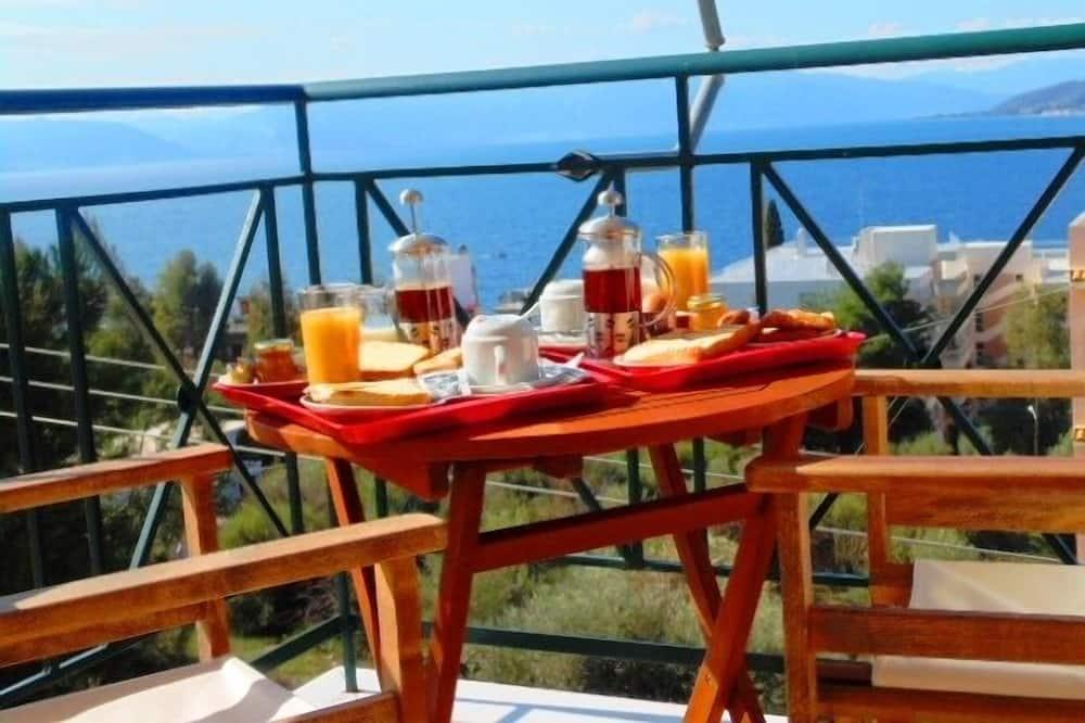 Estudio panorámico, balcón, mirando al mar - Terraza o patio