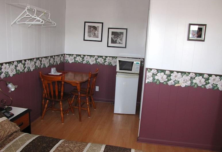 Motel & Chalet Waterloo, Shefford, Habitación básica, 1 cama doble, Sala de estar