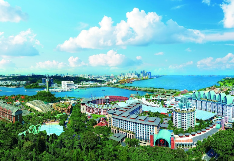 Resorts World Sentosa - Crockfords Tower (SG Clean), Singapore, Exterior