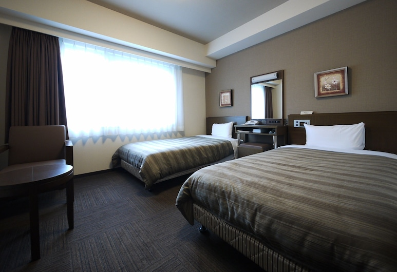 Hotel Route-Inn Satsuma Sendai, Satsumasendai, Δίκλινο Δωμάτιο (Twin), Μη Καπνιστών, Δωμάτιο επισκεπτών