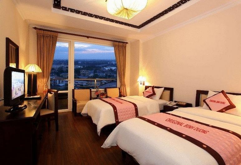 Sunny C Hotel, Hue, Izba typu Deluxe s dvojlôžkom alebo oddelenými lôžkami, Hosťovská izba
