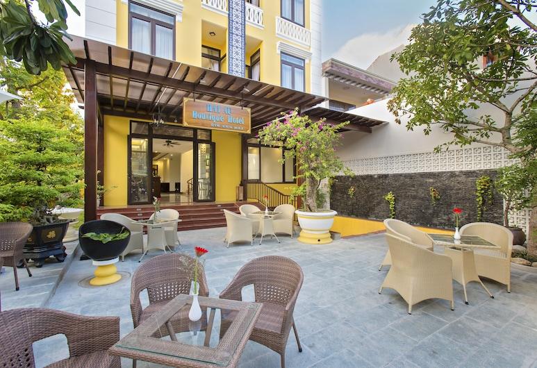 Hai Au Boutique Hotel & Spa, Hoi An, Refeições no exterior
