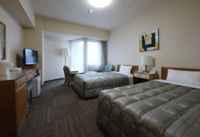 Hotel Route-Inn Nagaoka Ekimae, Nagaoka, Dvivietis kambarys (2 viengulės lovos), Rūkantiesiems, Svečių kambarys