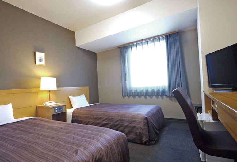 Hotel Route-Inn Obihiro Ekimae, Ομπιχίρο, Standard Δίκλινο Δωμάτιο (Twin), Μη Καπνιστών, Δωμάτιο επισκεπτών