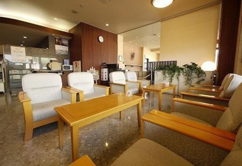 Hotel Route-Inn Takasakieki Nishiguchi, Takasaki, Priestory na sedenie v hale