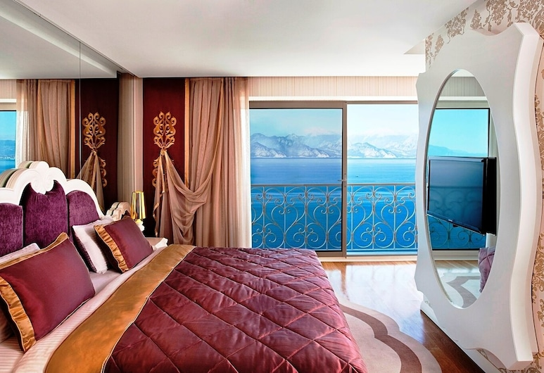 La Boutique Hotel Antalya-Adults Only, Antalya, Junior-Suite, 1 King-Bett, Meerblick, Zimmer