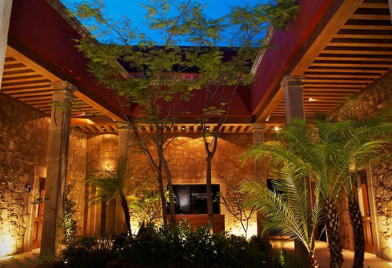 Casa Madero Hotel Boutique, Morelia, Terrasse/Patio