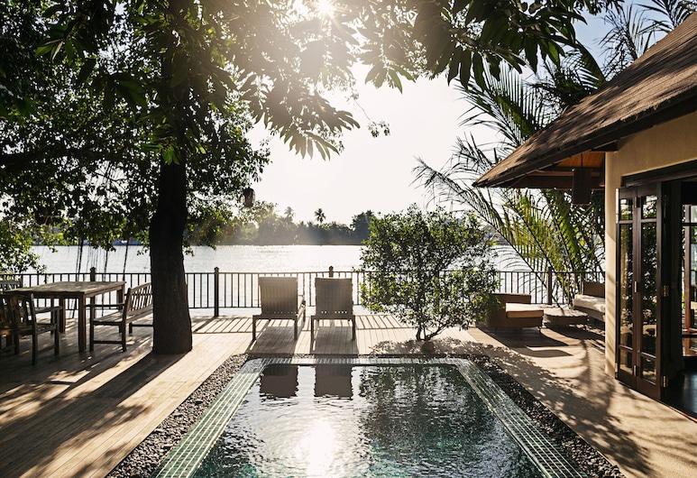 An Lam Retreats Saigon River, Тхуанан, Вілла, 2 спальні, з видом на річку, Тераса/внутрішній дворик
