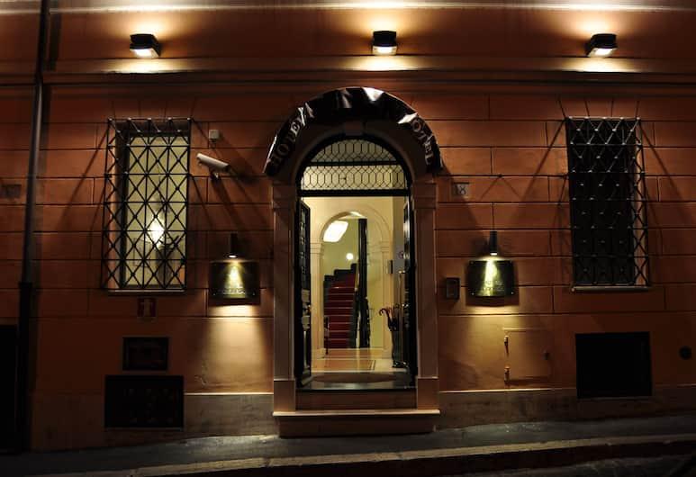 Hotel Gregoriana, Roma, Hotellinngang
