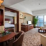 Представительский люкс, 1 двуспальная кровать «Кинг-сайз» - Зона гостиной