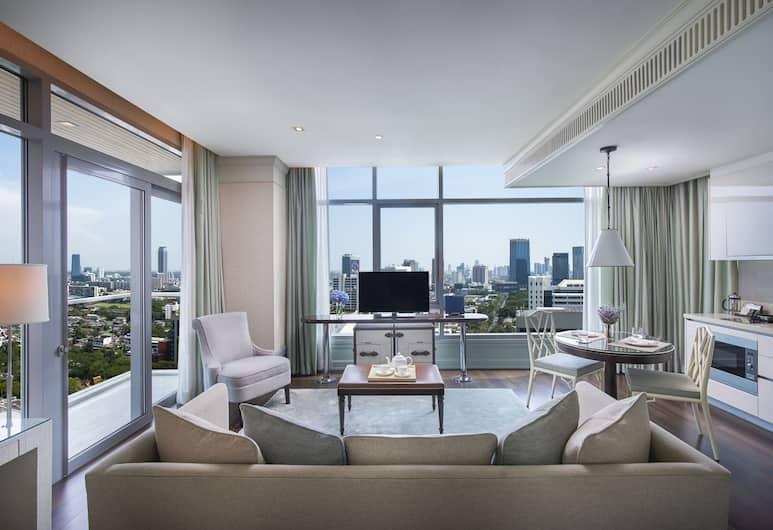 Oriental Residence Bangkok, Bangkok, Suite, 1 Bedroom, Corner, Guest Room