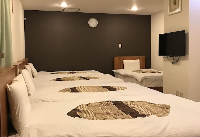 浪花酒店, 大阪, 家庭客房, 非吸煙房 (For 5 persons, lobby floor), 客房