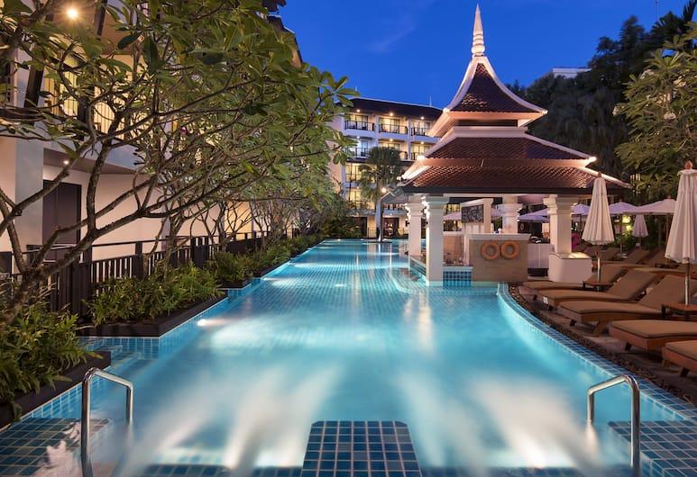 Centara Anda Dhevi Resort and Spa, Krabi, Bain à remous intérieur/extérieur