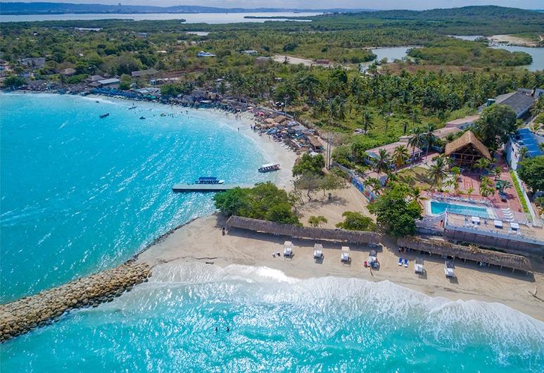 Hotel Dorado Plaza Punta Arena, Tierra Bomba Island, Praia