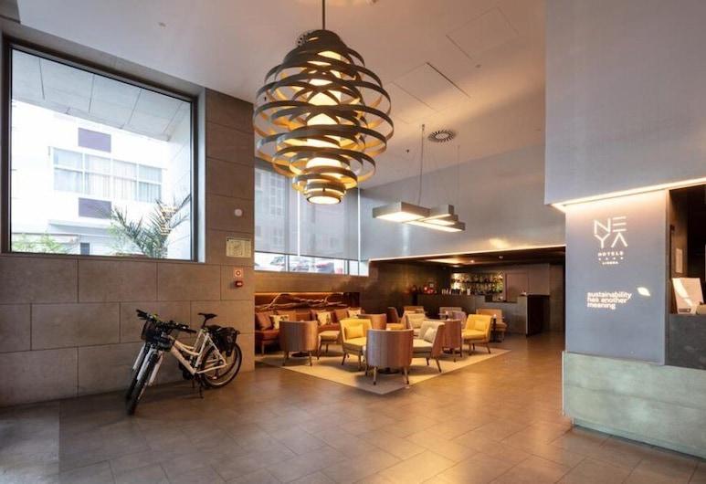 Neya Lisboa Hotel, ליסבון, לובי