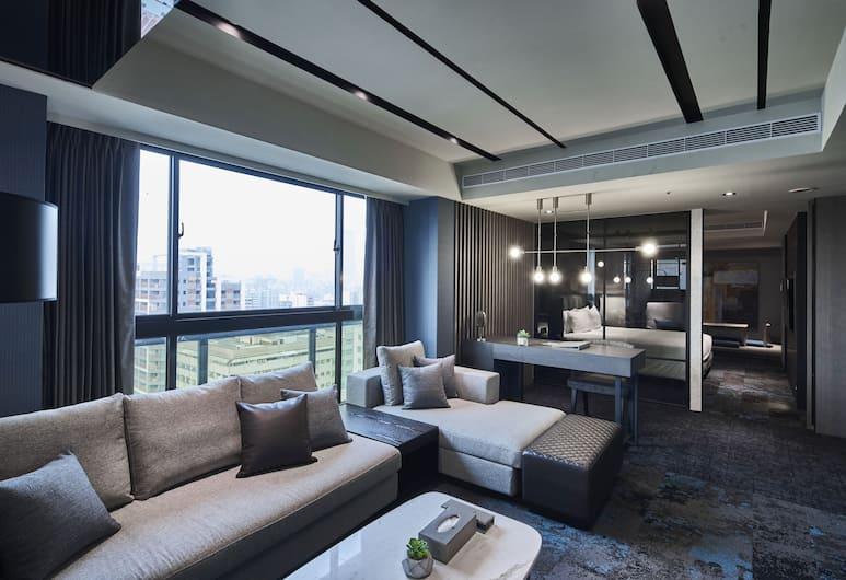 Kung Shang Design Hotel, Kaohsiung, Prezidentský apartmán, 1 spálňa, Obývacie priestory