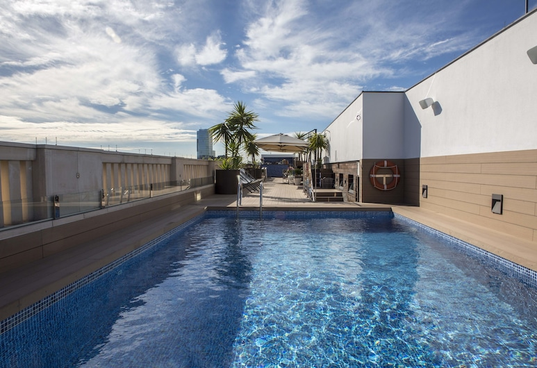 K+K Hotel Picasso El Born, Barcelona, Rooftop Pool