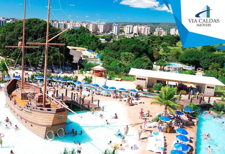 Via Caldas - Piazza Diroma, Caldas Novas, Bazén