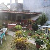 Deluxe-Zimmer - Blick auf den Garten