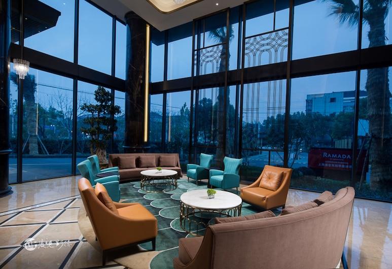 Ramada by Wyndham Shanghai Pudong, Shanghai, Lobby Sitting Area
