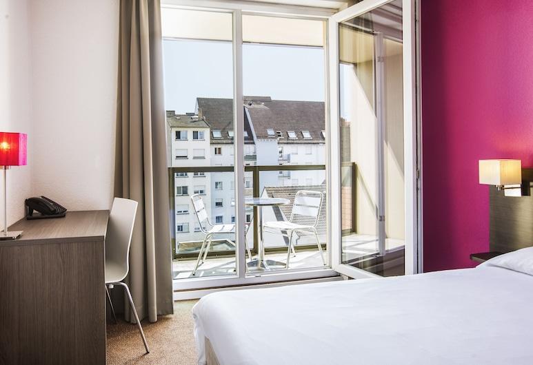 Aparthotel Adagio access Strasbourg Petite France, Strazburg, Superior Stüdyo, 1 Çift Kişilik Yatak, Balkon (for two people), Oda