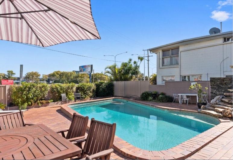 Browns at Broadbeach Motel, Gold Coast, Aire de pique-nique/barbecue