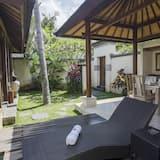 Villa, viena guļamistaba, privāts baseins - Balkons