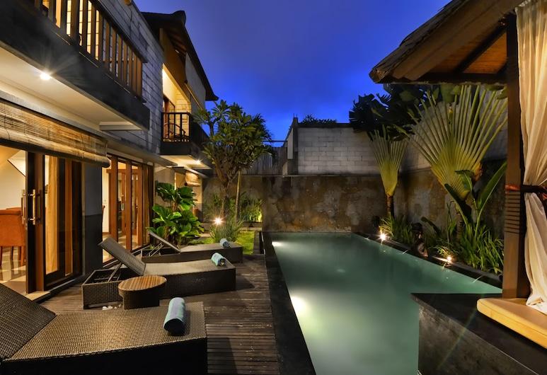 The Khayangan Dreams Villa Seminyak, Seminyak, Piscina externa