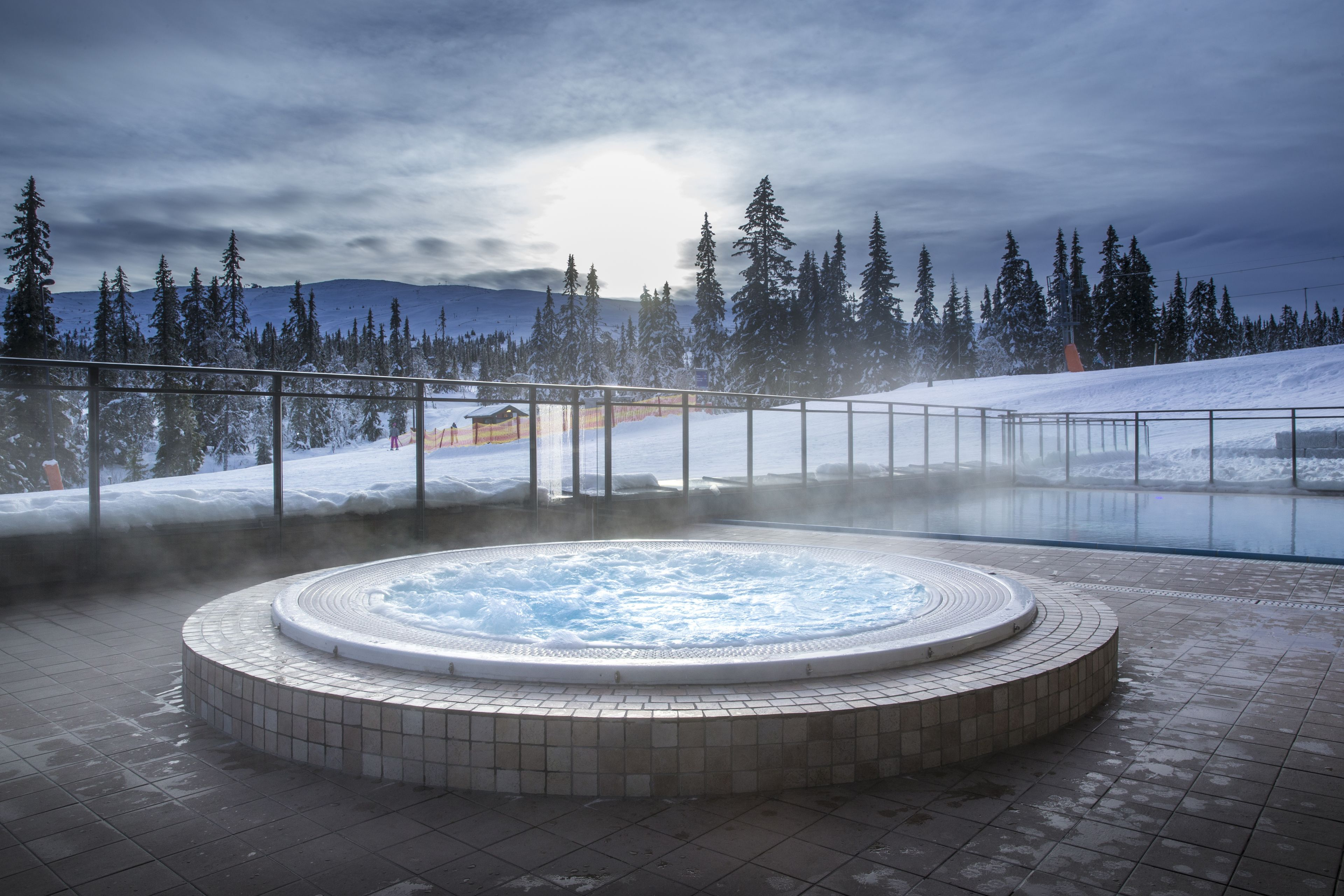 Radisson Blu Mountain Resort & Residences, Trysil, Utendørsbasseng