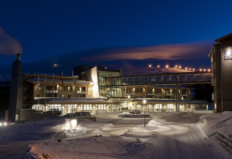 Radisson Blu Mountain Resort & Residences, Trysil, Hotellets facade