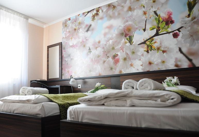 Green Hotel Budapest, Budapest, Standard dubbelrum eller tvåbäddsrum, Gästrum