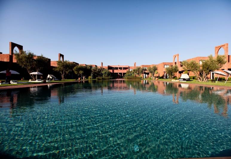 Les Jardins de Zyriab, Marrakech, Vista desde el hotel