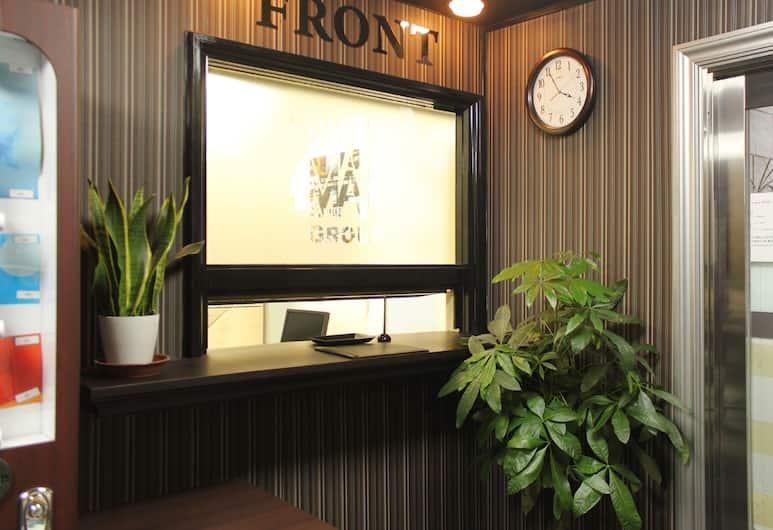 日暮里 LiVEMAX 飯店, 東京, 櫃台