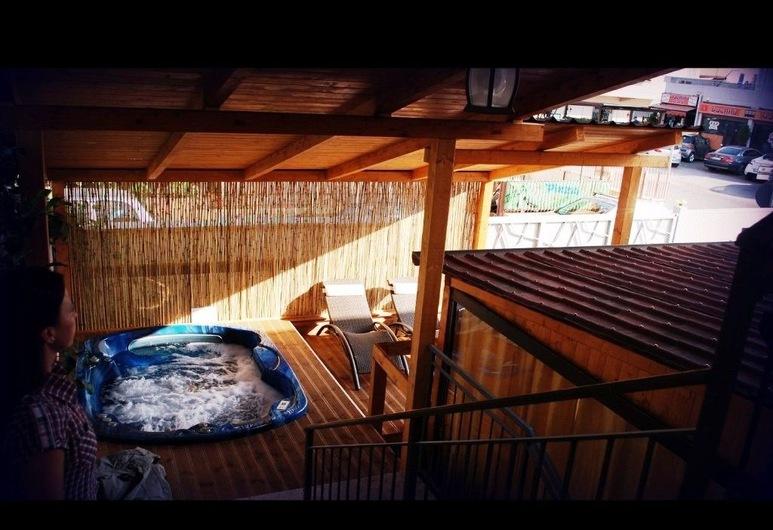 美麗太陽酒店, 奇維塔韋基亞, 室外 SPA 浴池